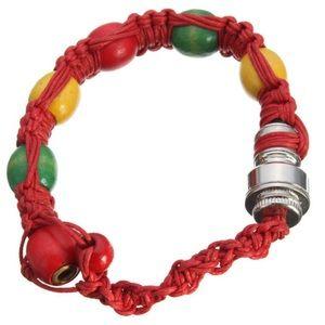 Red Rasta Bowl Bracelet